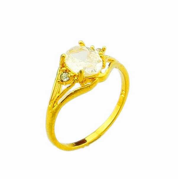 Nouveauté!! Mode 24k GP couleur or hommes et femmes bijoux bague en or jaune or anneau de doigt vente chaude YHDR019