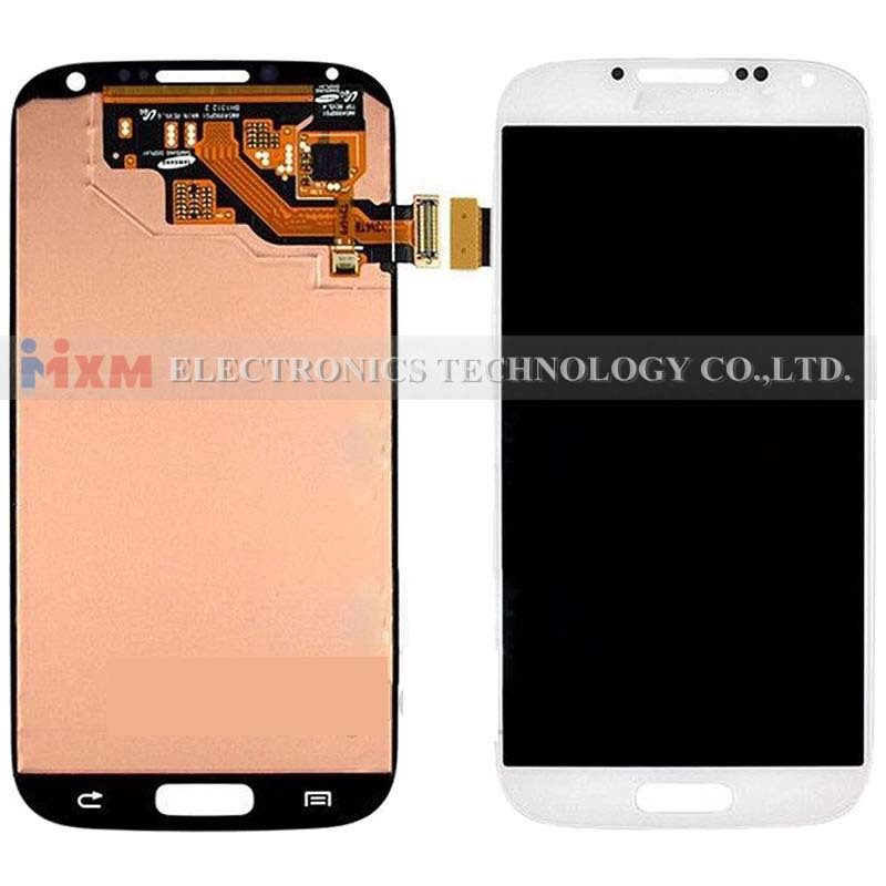 LCD Display Screen Lens Digitizzer Assembly For Samsung Galaxy S4 i9500 I545 M919 White