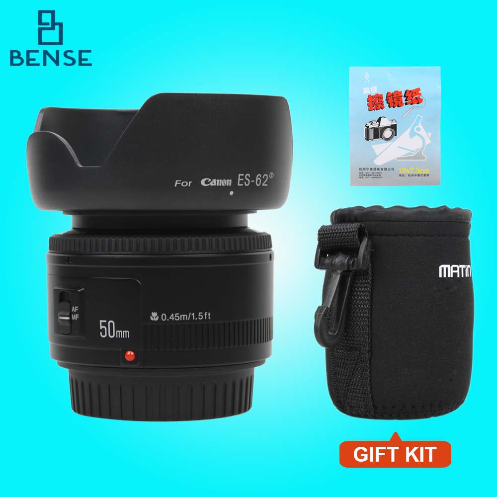 YONGNUO YN 50MM F1 8 Large Aperture Auto Focus font b Lens b font For Canon