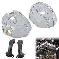 Прозрачная защита двигателя сбоку цилиндр головные уборы Аксессуары для мотоциклов, пригодный для BMW R1200GS R1200RT Новый