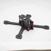 HSKRC IX5 210 210mm 5inch Carbon Fiber Frame Kit Compatiable with 2205 Motor for FPV Racing Drone