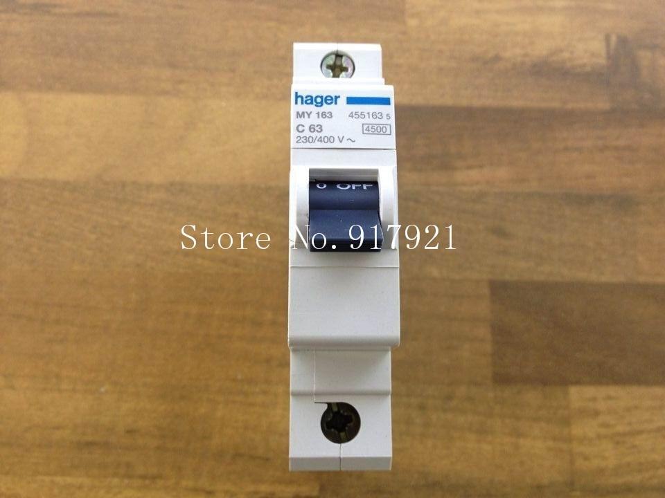 [ZOB] Hagrid MY163 miniature circuit breaker 1P63A to ensure genuine --10PCS/LOT