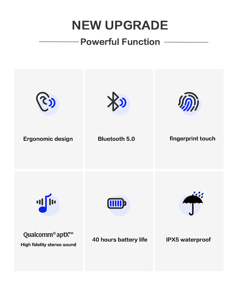 Image 2 - Dikdoc Wireless Earbuds Bluetooth Earphones TWS Waterproof In earphone Handfrees Noise Cancelltion BT 5.0 For Galaxy Sport Buds-in Bluetooth Earphones & Headphones from Consumer Electronics