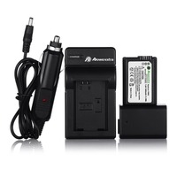 2x NP FW50 Replacement Battery Charger For SONY Camera NEX 3N NEX 5T NEX 6 NEX