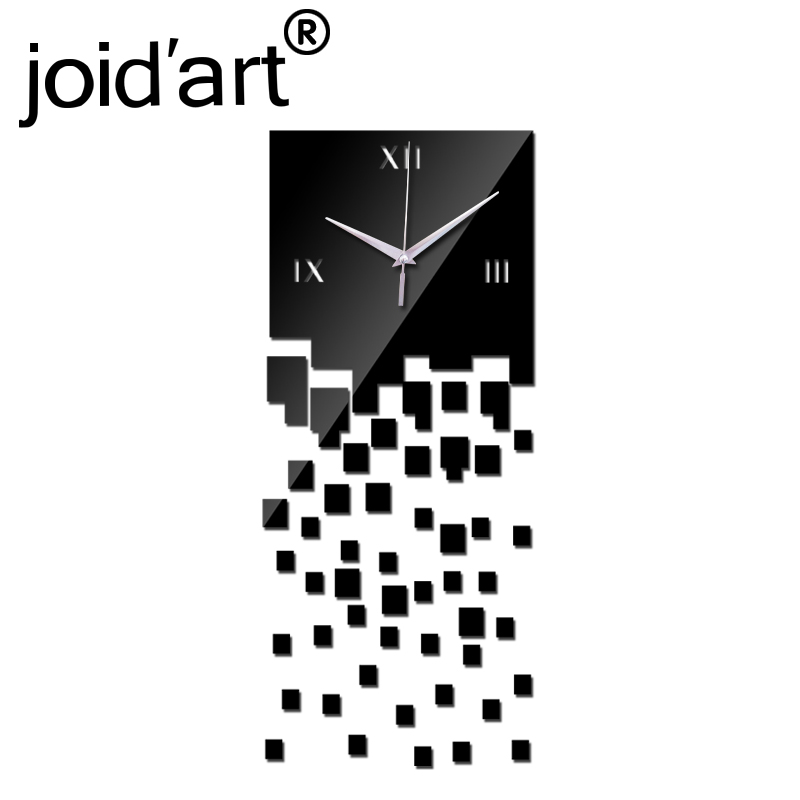 2019 Promotion Modern Wall Clocks Mirror Luxury Design Real Diy Watch 3d Crystal Clock Sticker Living Room Decor Free Shipping