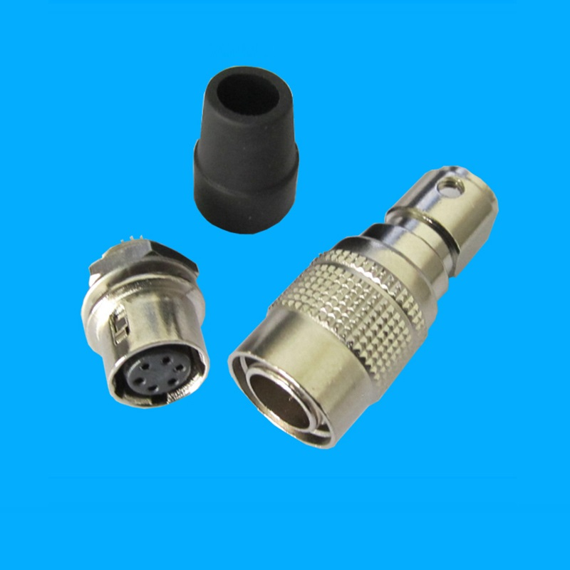 Miniature 6 pins electrical connector, cross Hirose connector HR10A-7P-6P HR10A-7R-6S connector hr25a 7r 8pa