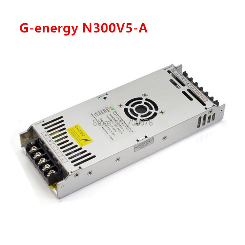 G-energy N300V5-A Slim 5V 60A 300W LED Display Power Supply , Size 212*83*30mm 300W LED Screen Switching Power Supply