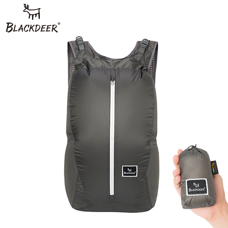 BLACKDEER Outdoor Camping Backpack Waterproof Finest 30D Cordura Bags 24L Ultralight Folding Handy Durable Travel Hiking Bag