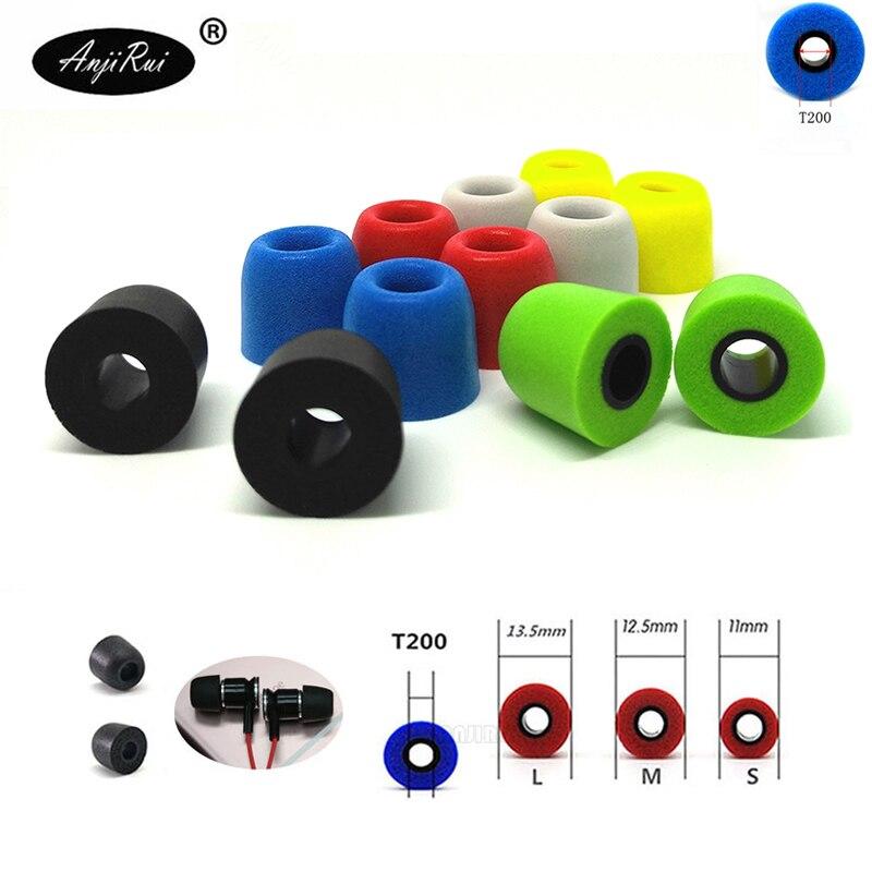 T200 Caliber Ear Pads/cover Memory Sponge Style For In-ear Style Earphone Tips Foam Ear For KZ Zst/Ostry/KC09 Ears/xiaomi Mi