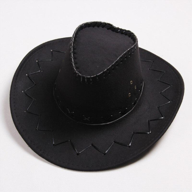 72aca451c7f 2018 NEW Retro Unisex Denim Wild West Cowboy Cowgirl Rodeo Fancy Dress  Accessory Hats Western cowboy hat-in Cowboy Hats from Apparel Accessories  on ...