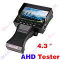 "CCTV Camera 1080P AHD Tester 4.3""TFT Color LCD Portable AHD with built-in lithium battery, video input, DC12V power supply"