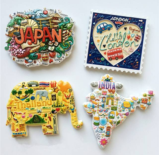 Thailand Topographic Map.Online Shop Japan Thailand Uk India Topographic Map 3d Fridge Magnet