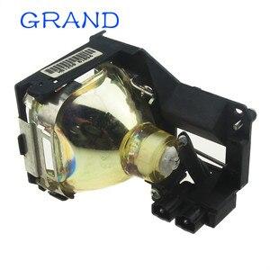 Image 5 - Venda da fábrica brandnew POA LMP86 substituição lâmpada do projetor nua com habitação para sanyo PLV Z1X/PLV Z3 bate feliz