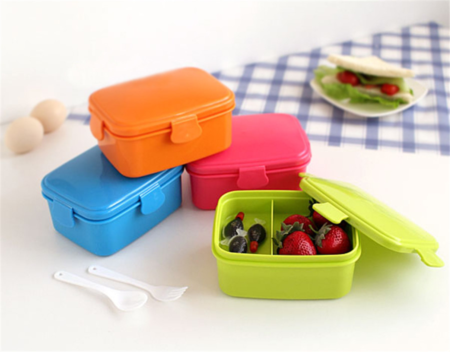 Food Safe Box 1pc Hp21 Non Toxic Microwave Use Plastic Container Suitable For Office And Picnic