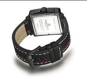 Image 5 - Naviforce Uhren Männer Marke Luxus Leder Quarz Männer Uhr Mode Lässig Militär Sport Männliche Datum Armbanduhren Luminous Uhr