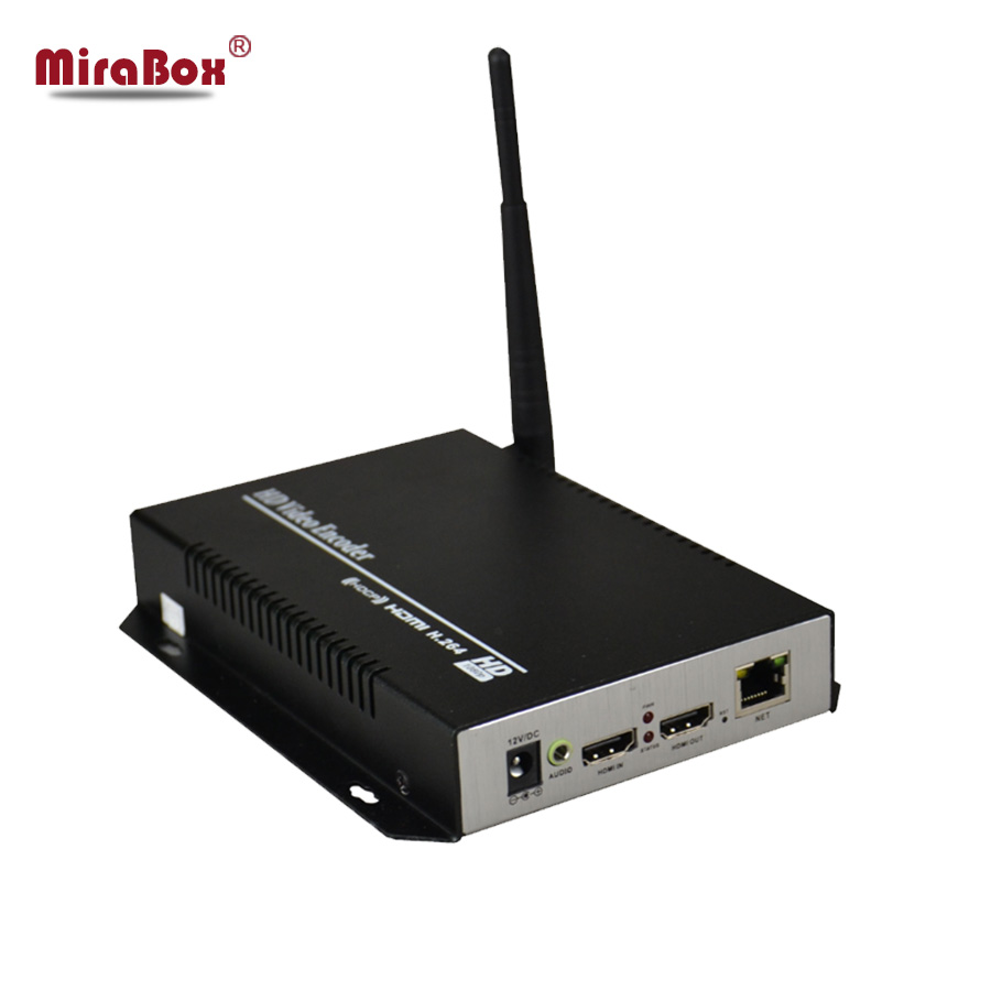 H 264 Wireless HD HDMI Encoder for IPTV Live Stream Broadcast Support local loop out works