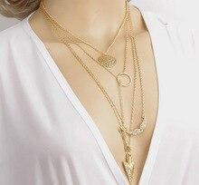 Angel Wings Arrow Collar Necklaces