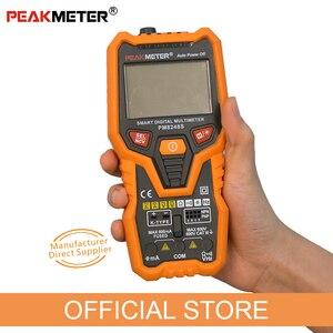 Image 4 - PM8248S Smart Volledig Autorange Professionele Digitale Multimeter Voltmeter Met Ncv Frequentie Bargraph Temperatuur Transistor Test