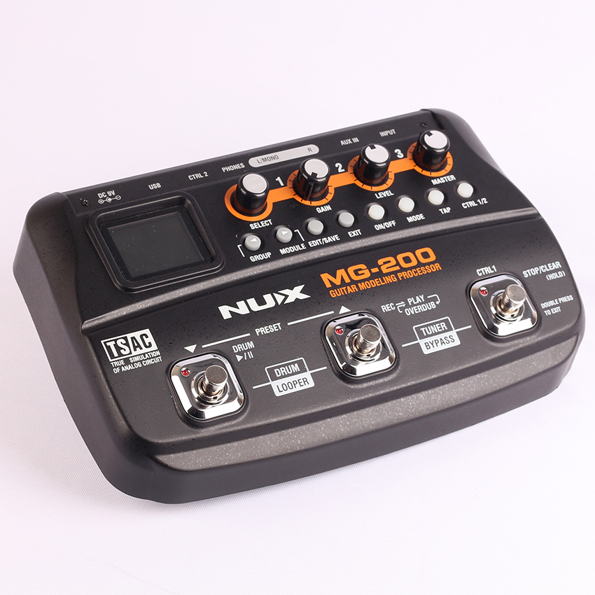 Free shipping electric guitar effector, multi-function guitar digital composition, sound tuner drum machine LOOP recording cycle in stock china factory custom guitar machine tuner taiwan production of acoustic guitar machine tuner free shipping