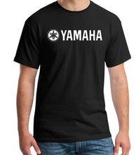 4b9101366d3 Nueva moda YAMAHA logo camiseta marca ropa letra impresión manga corta  Camiseta alta calidad camiseta para