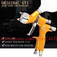 Lvmp professionelle gti pro lite spray gun TE20 T110 1.3/1,8mm wasser basierend farbe auto automotive farbe spray gun