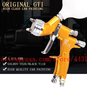 Image 2 - lvmp professional gti pro lite spray gun TE20 T110 1.3/1.8mm water based paint car automotive paint spray gun