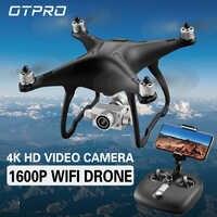 OTPRO O3 GPS Drone sans brosse professionnel 5G suivez-moi WiFi Fpv 4K 1080P caméra HD VS Selfie Rc quadrirotor Drone x9 heron x8t X6