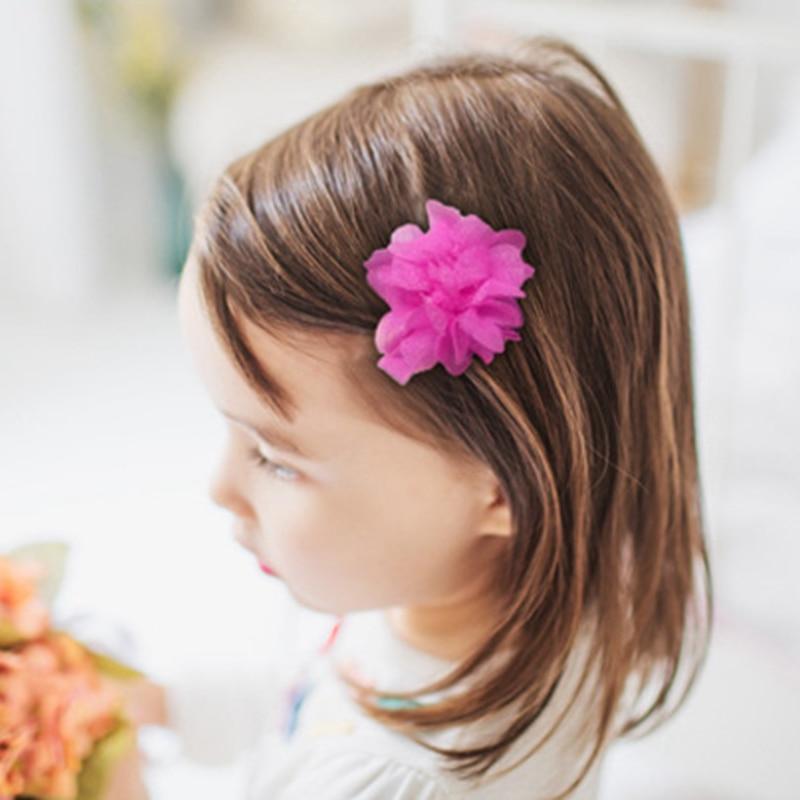 Childrens Hair Cloth Baby Kids Headdress Flowers Hair Princess Love