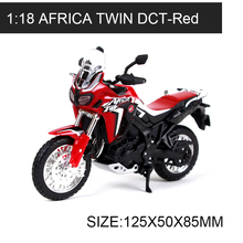 Maisto 1:18 Motorcycle Models Africa Twin DCT Red Alloy Model Motorcycle Model Motor Bike Miniature Race Toy For Gift Collection 1 10 maisto motorcycle toy alloy yamaha honda motorbike model racing motor miniature car models kids toys gift