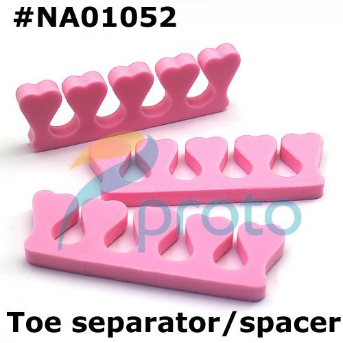 Freeshipping-Soft Form Toe Separator/Finger Spacer For Manicure Pedicure Nail Tool Wholesales SKU:F0074XX