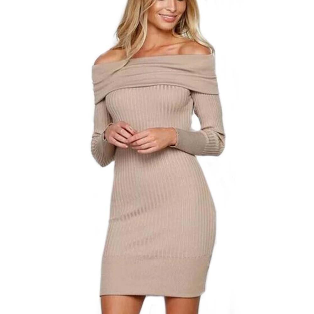 Online Get Cheap Winter White Sweater Dress -Aliexpress.com ...