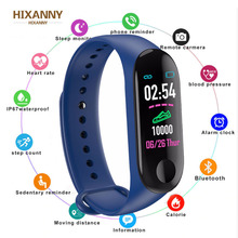 M3 Smart Bracelet Women Men Call Information Reminder Heart Rate Sports Waterproof Color Screen For Android IOS