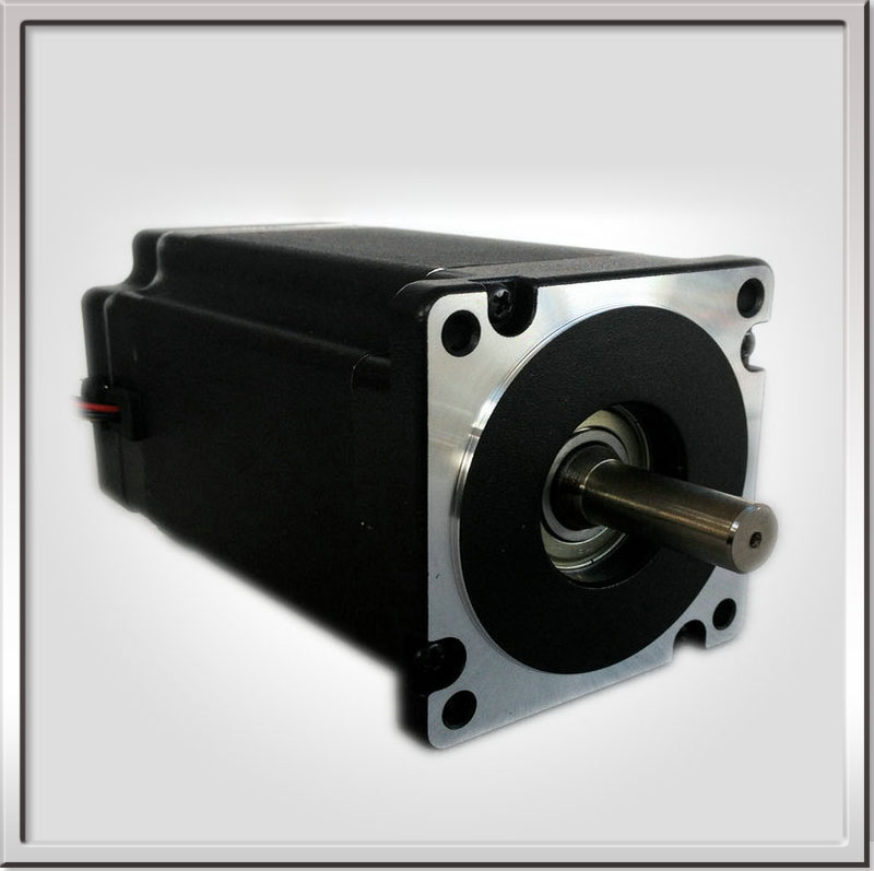 Free shipping 86BLS125 Low Noise 86x86mm 48VDC 3000RPM 3 Phase Brushless DC Motor Length 125mm 2