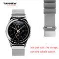 Novo de alta qualidade em aço inoxidável relógio de pulso com pulseira de metal para samsung gear s2 moto360 ticwatch pulseira frete grátis