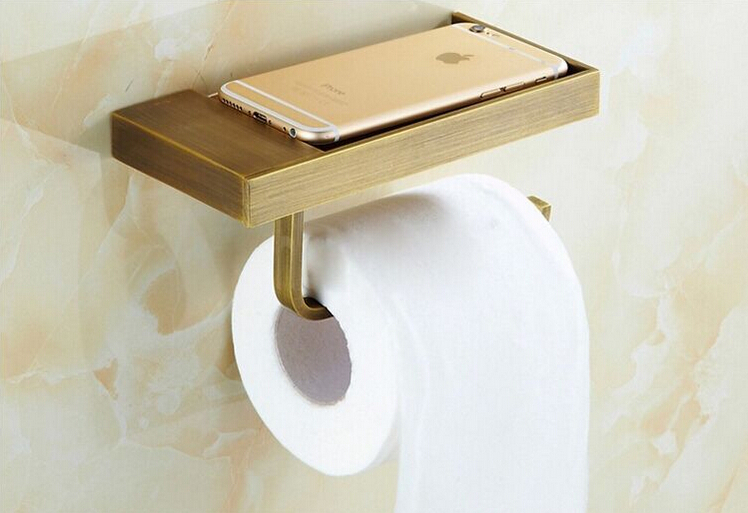 купить  new arrival total brass paper holder bathroom tissue toilet paper toilet paper roll  holder bathroom accessories  недорого