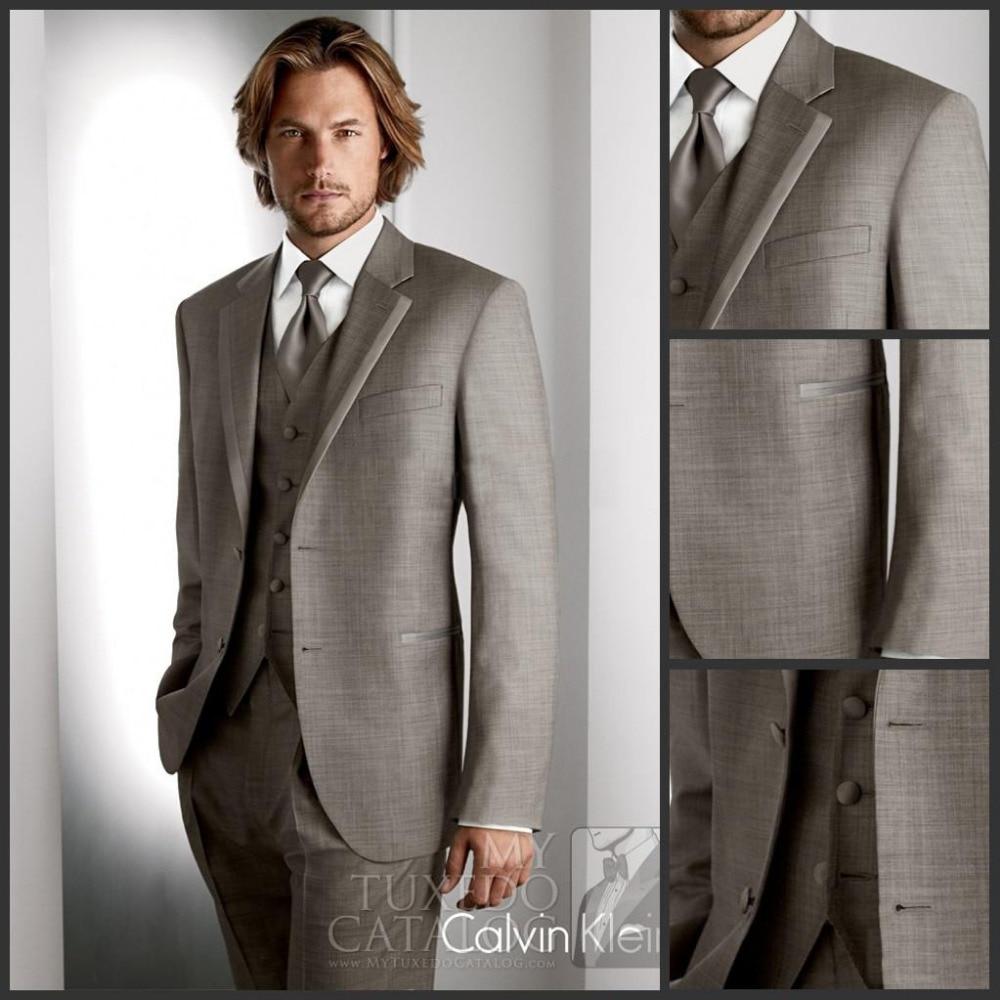 New Style 4 Pics 2015 Fashion Men Business Suits Men's Wedding ...