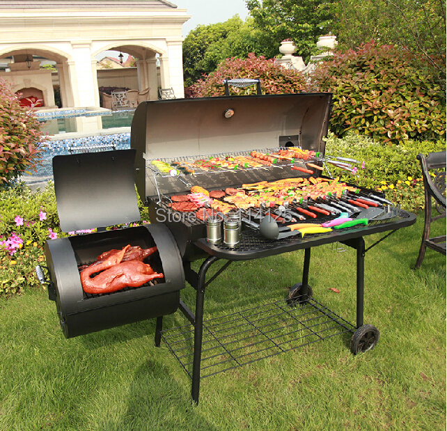 US $999 99 |big size barbecue grill luxury barbecue grill for sale-in BBQ  Grills from Home & Garden on Aliexpress com | Alibaba Group
