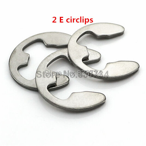 100pcs 2mm a2 70 304 stainless steel retaining ring for shaft fastener hardware image