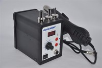 220V 700W YOUYUE 858D ESD Soldering Station LED Digital Solder Hot Air Gun Rework Station