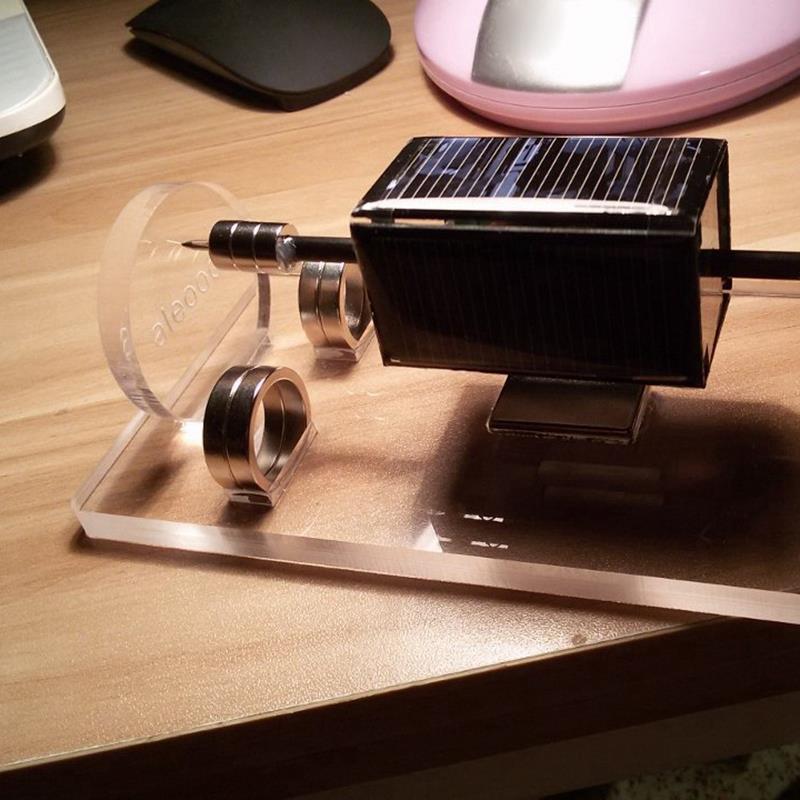 modelo levitacao magnetica solar quente levitando 04