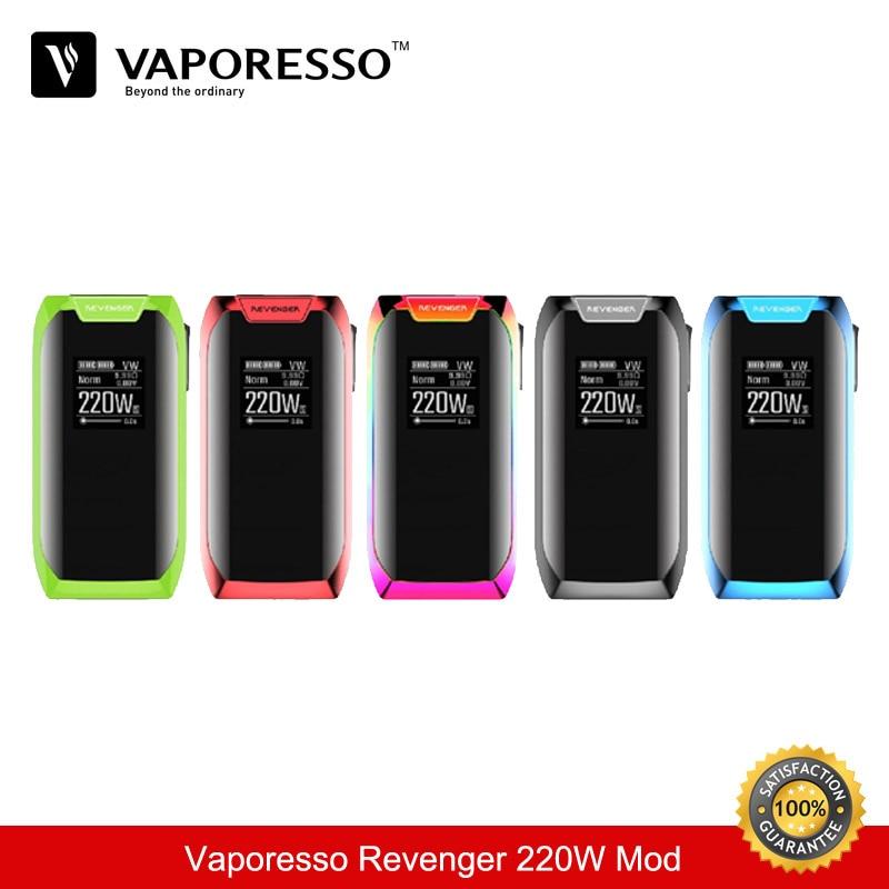 Electronique cigarrillo vaporesso vengador 220 W TC caja mod kit cigarrillo electrónico TC mod 18650 vaporizador vape vs eleaf ijust s