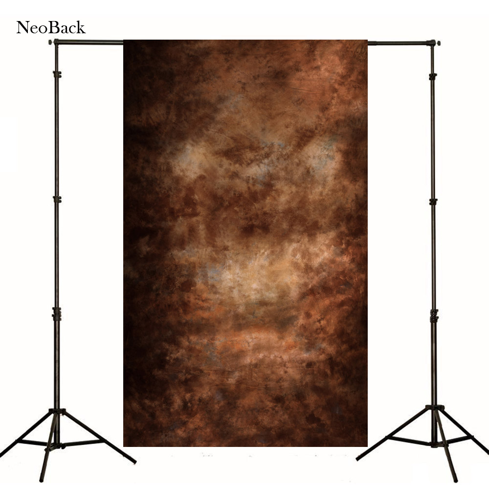 2017 sale 3X5ft vinyl portrait brown tone photography background Black texture background wall backdrops for Photo
