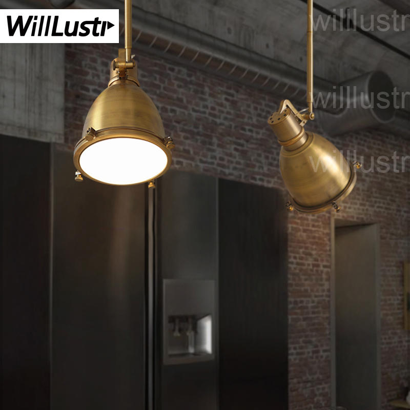 Willlustr vintage maritieme dock hanglamp suspension lamp Antieke ...