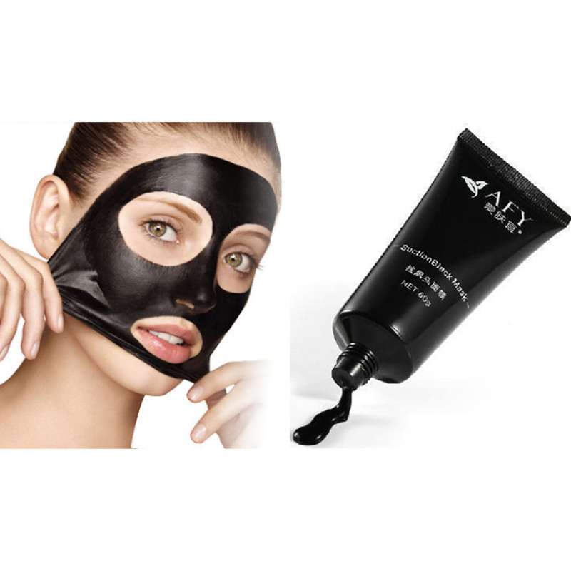 AFY Mascara black head mask blackhead Pilaten blackhead Acne remover pore strip mascarilla black face cleaner puntos negros secret key black out pore peel off pack bamboo charcoal face mask remove blackheads remover acne treatments cleaner oil control