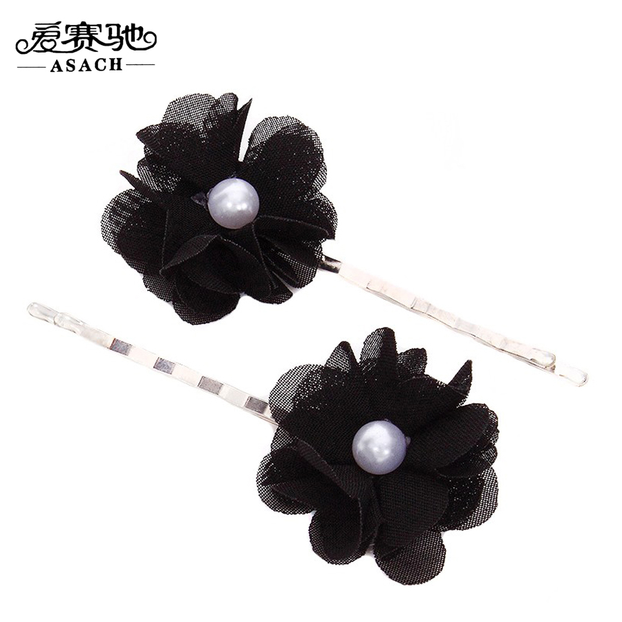 Online get cheap gothic hair clips aliexpress alibaba group asach gothic black flowers hair pins for women girls vintage hair wear jewelry barette cheveux femme dhlflorist Choice Image
