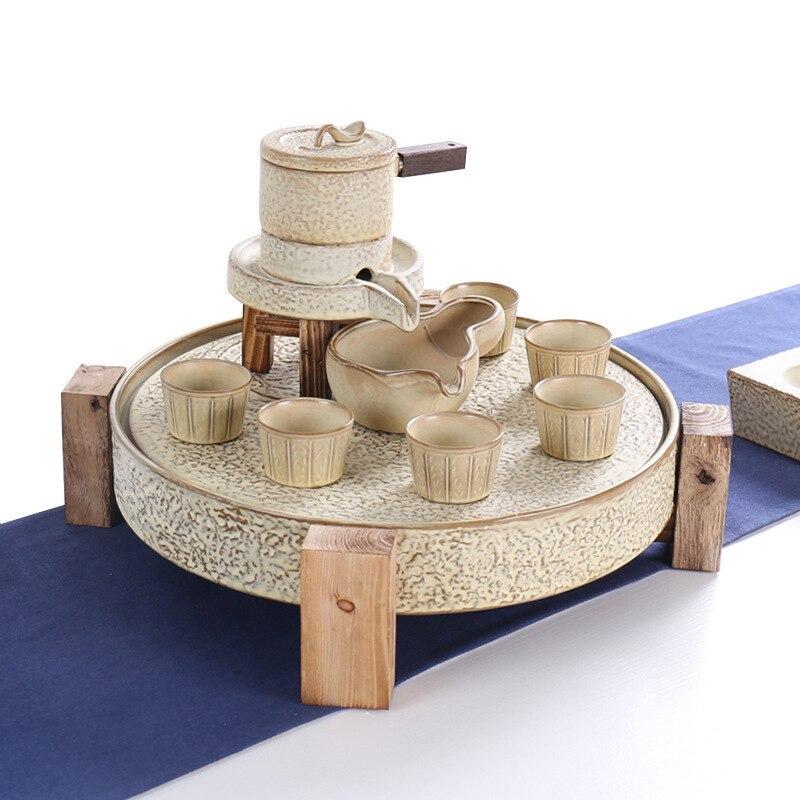 Ceramica Tè Insieme del Vestito Ogni Cane Ha Il Suo Giorno di Originalità Pietra Dawdler Kungfu Ceramica Infuso Di Tè Organo Per La Casa On Line - 2