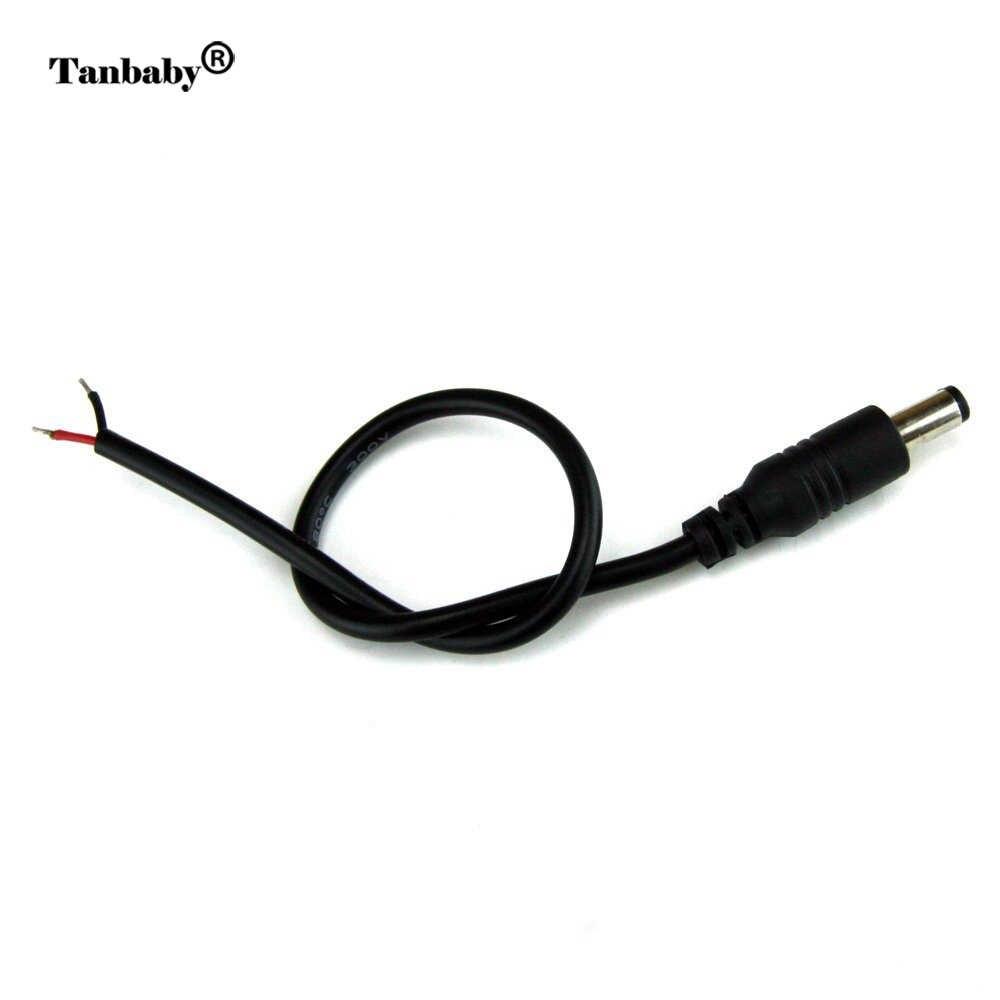 1 Nam hay Nữ Đầu Nối dây 5.5*2.1mm DIY extensio kết nối dây cáp cho RGB dây điều khiển để bộ chuyển đổi nguồn điện