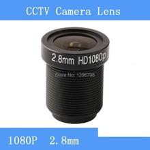 Factory direct surveillance camera lens M12 interfaces F2 fixed aperture 2MP 2.8mm CCTV lens
