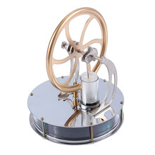Juguete educativo de Motor Stirling a vapor para niños, juguete educativo de baja temperatura con vapor de calor, adorno artesanal