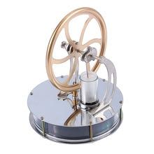 Low Temperatur Stirling Motor Motor Dampf Wärme Bildung Modell Wärme Dampf Bildung Spielzeug Für Kinder Handwerk Ornament Entdeckung